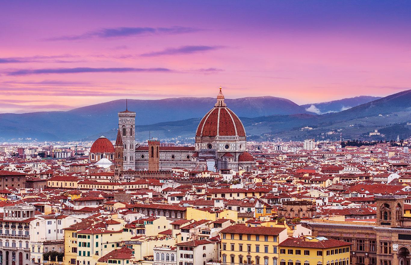 Florence-italie week-end romantique amoureux